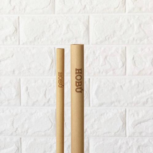 Set de Pailles Bambou | HOBU