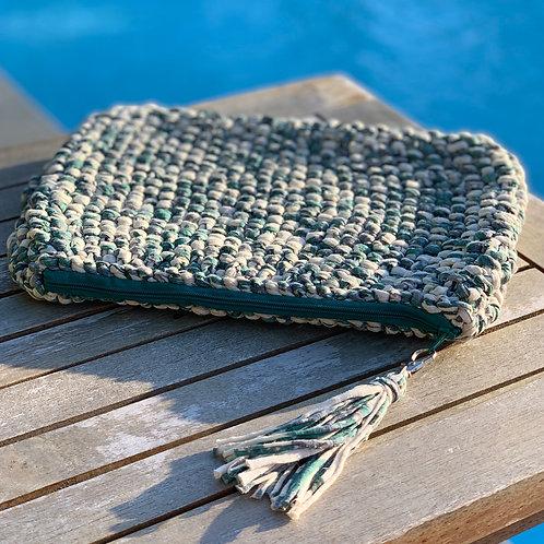 Pochette crochet Vert - GHJU CREAZIONE