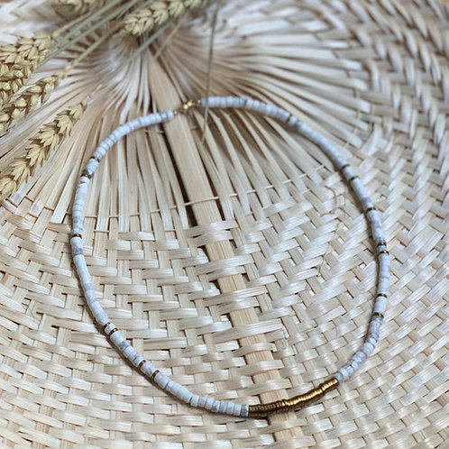 Collier PRECIOUS CAPO Blanc | OLMU