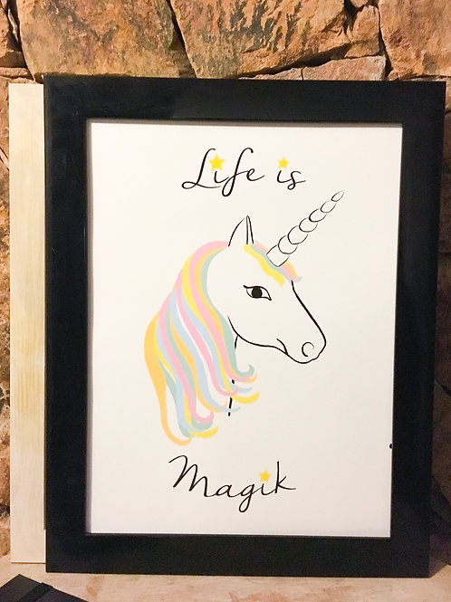 "Affiche "" Life is Magik "" | Tiphaine Soler"