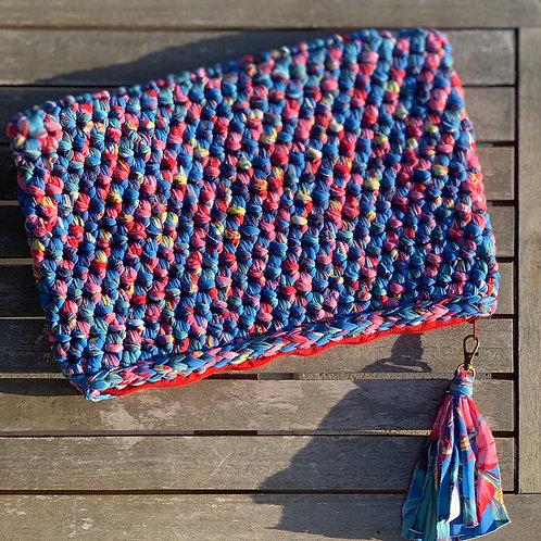 Pochette crochet Bleu - GHJU CREAZIONE