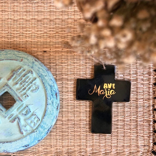 Croix « Ave Maria » | Maria Monica