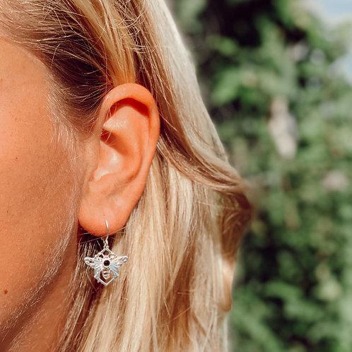 Boucles d'oreilles Apa Noir | Bella Tchix