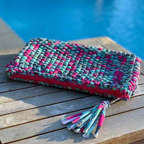 Pochette crochet fushia - GHJU CREAZIONE