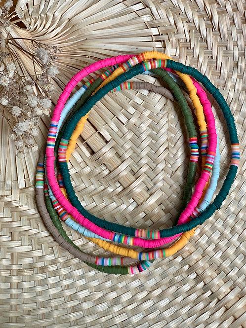 Collier CAPO perles moyennes | OLMU