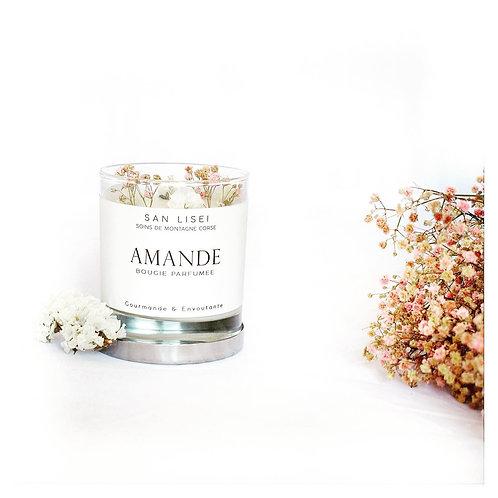Bougie Fleurie Amande n°2 | SAN LISEI