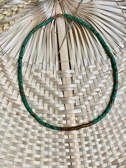 Collier PRECIOUS CAPO Turquoise | OLMU