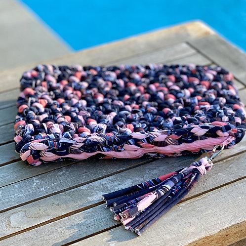 Pochette crochet Rose - GHJU CREAZIONE