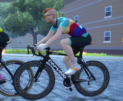 You + Ladies Zwift Avatar, Relationship: Complicated
