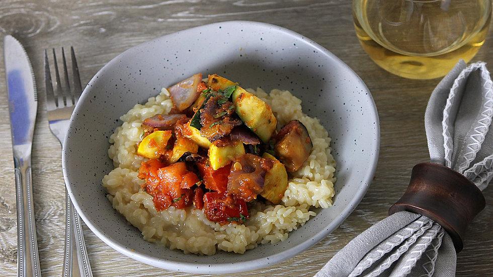 Sicilian Vegetable Risotto