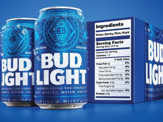 Bud Light Announces Nutrition Labels, But They're Missing Something…