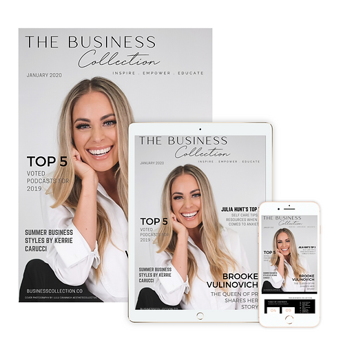 The Business Collection Magazine Issue 01 - Printed