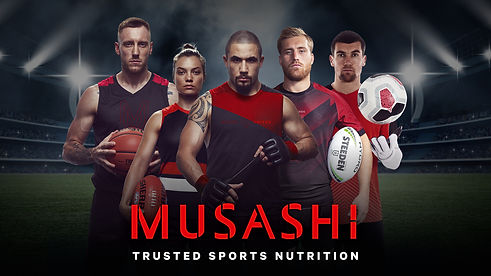 Musashi Trusted Sports Nutrition Discount