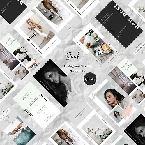 Sleek Instagram Story Templates