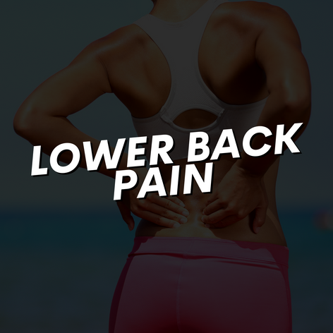 Lower Back Pain Injury Rehab Experts Bri