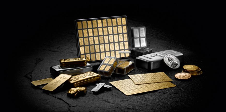 Portfolio Set Gold & Silber