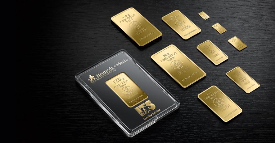 Goldbarren Set