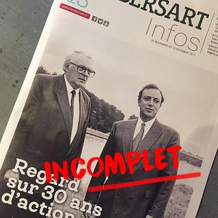 Regard sur 30 ans d'action de M.Daubresse à Lambersart: ce que vous ne lirez pas dans le magazine m