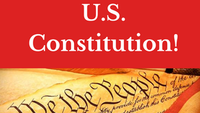 Happy 233rd Birthday to U.S. Constitution