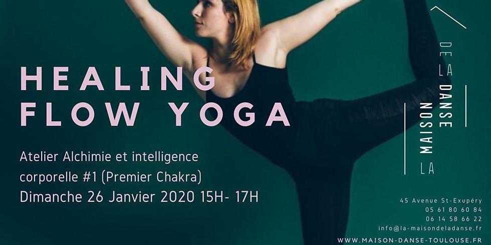 Healing Flow Yoga (15h-17h) Toulouse