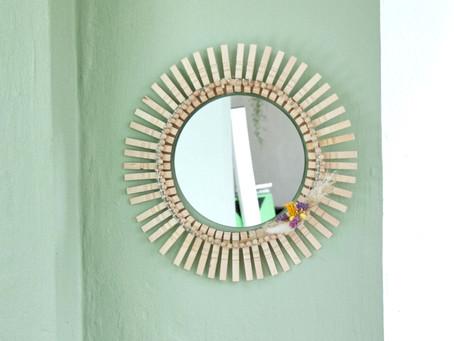 Wandgestaltung: DIY-Spiegel