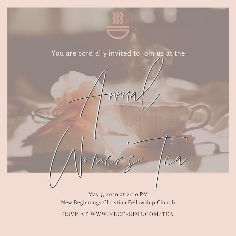Annual Women's Tea