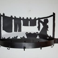 Wall Pot Hanger