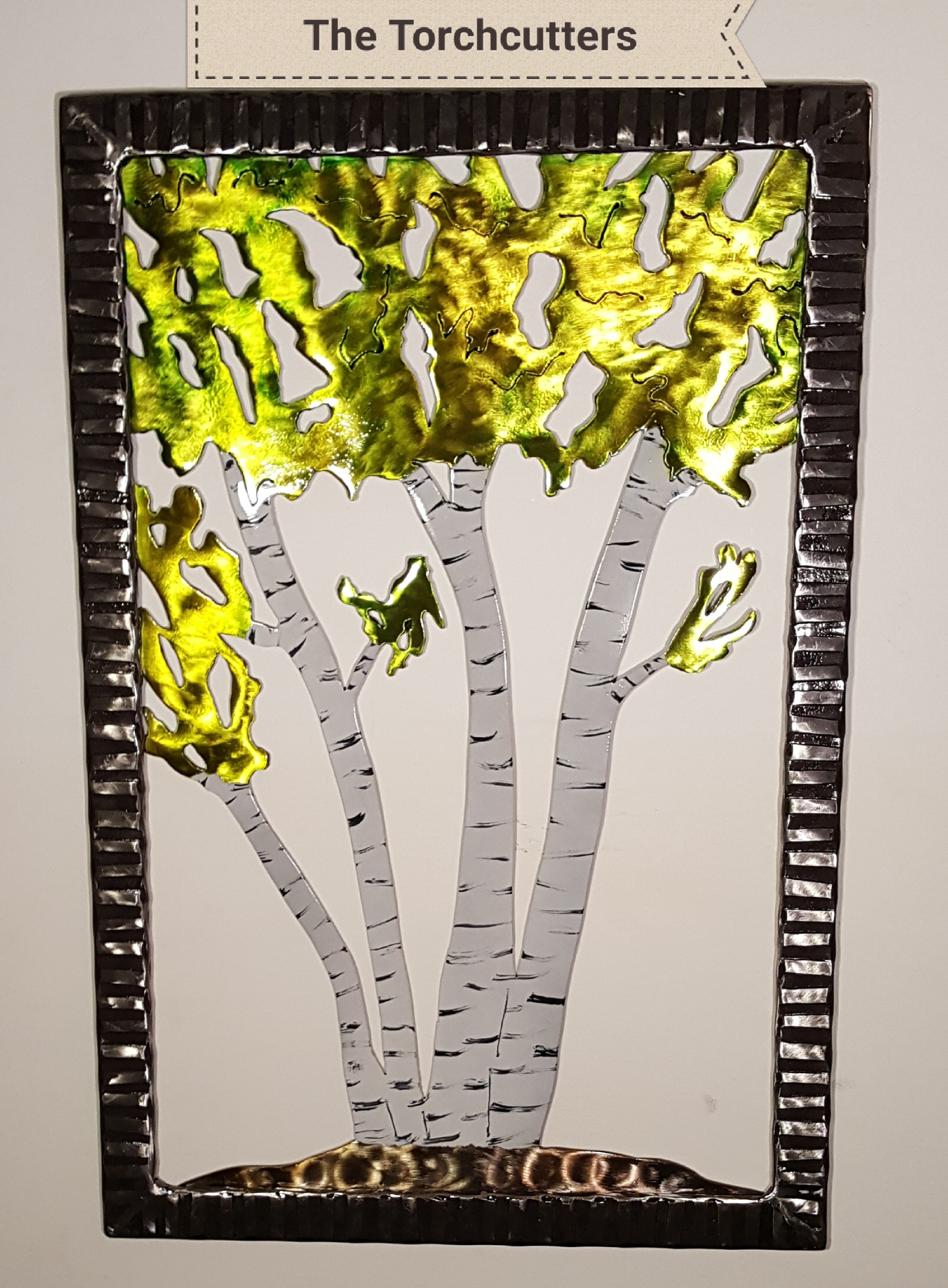 Fall White Clump Birch