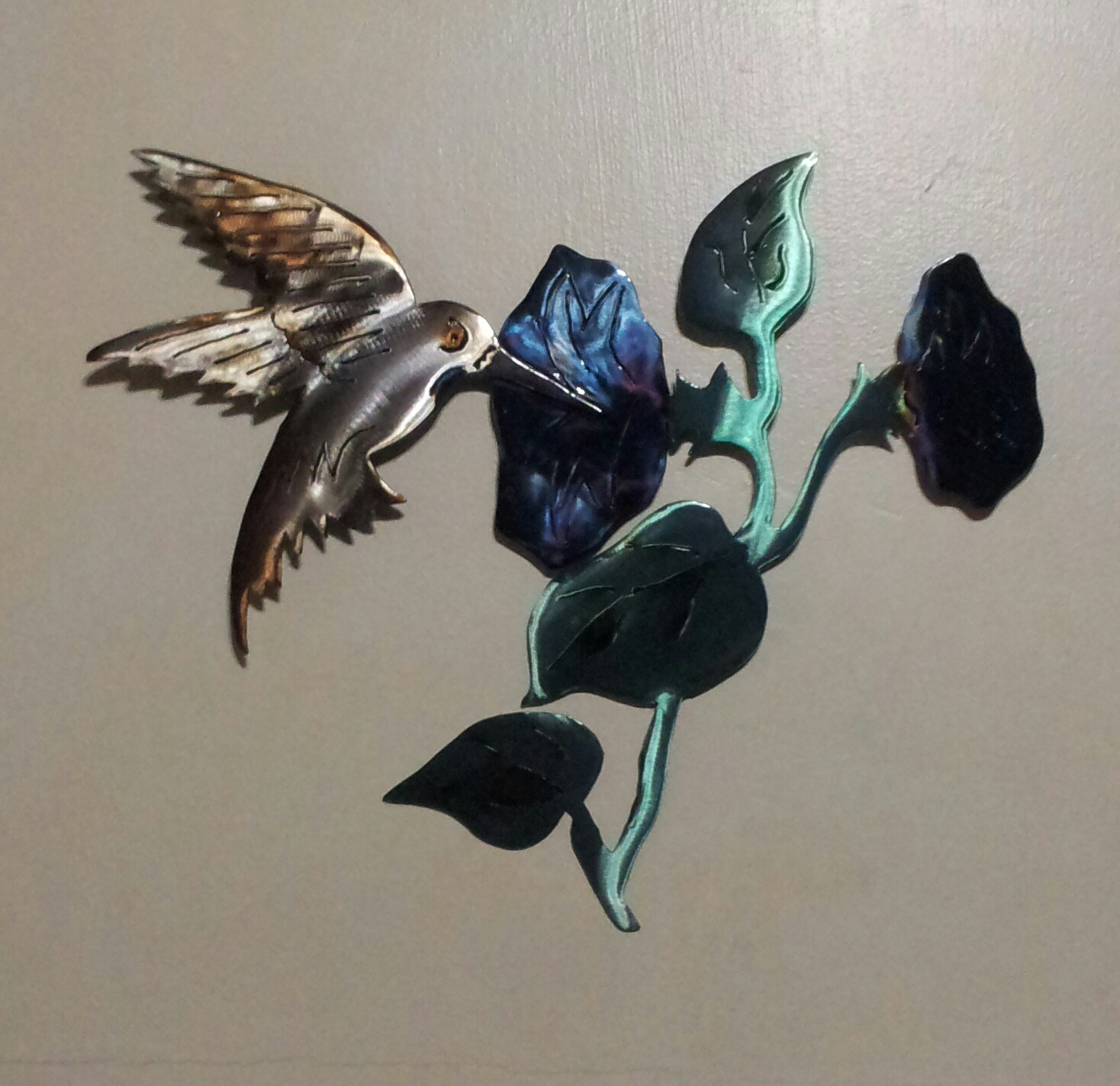 Small Hummingbird Wall Pc.