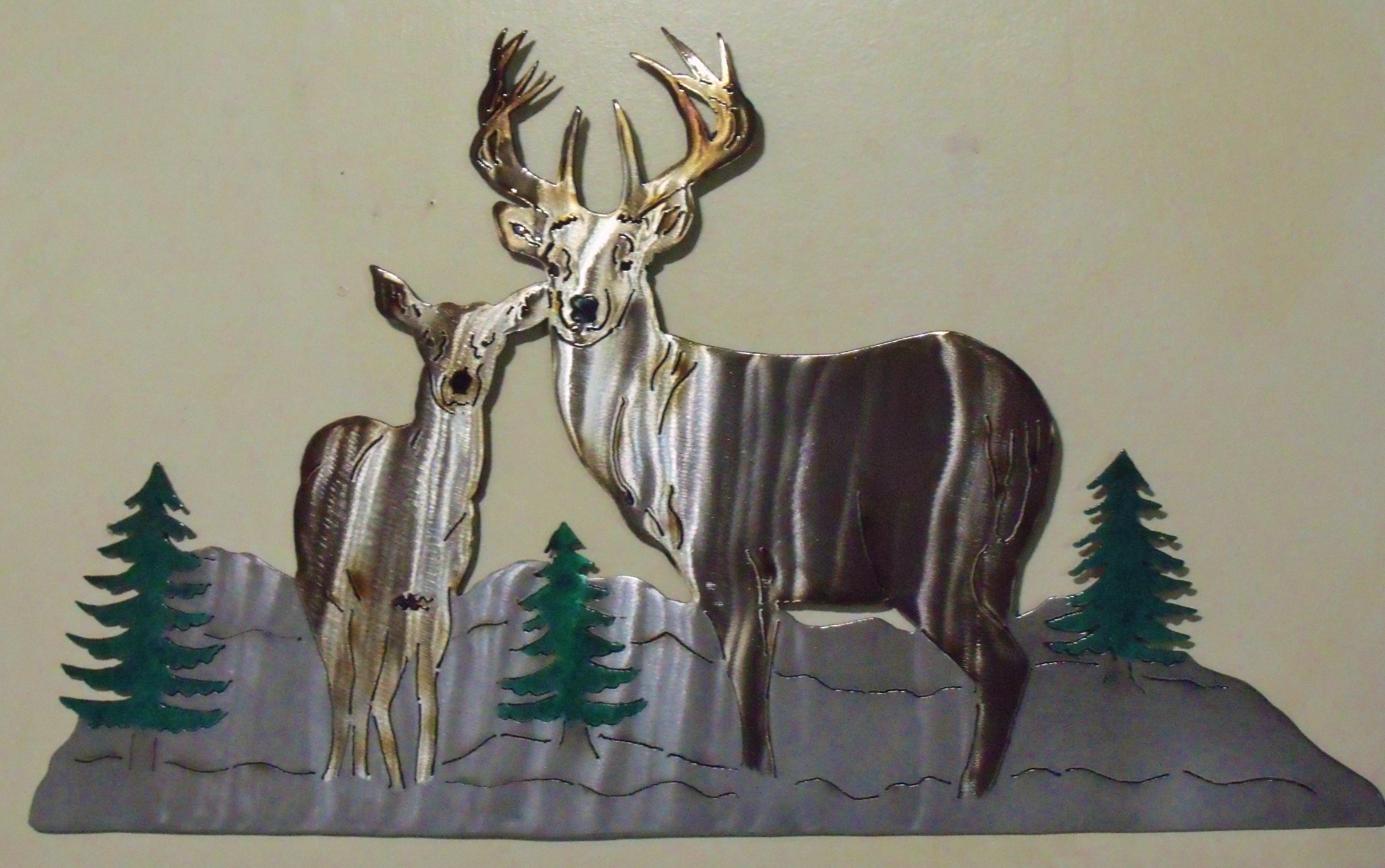 Deer in Mountains