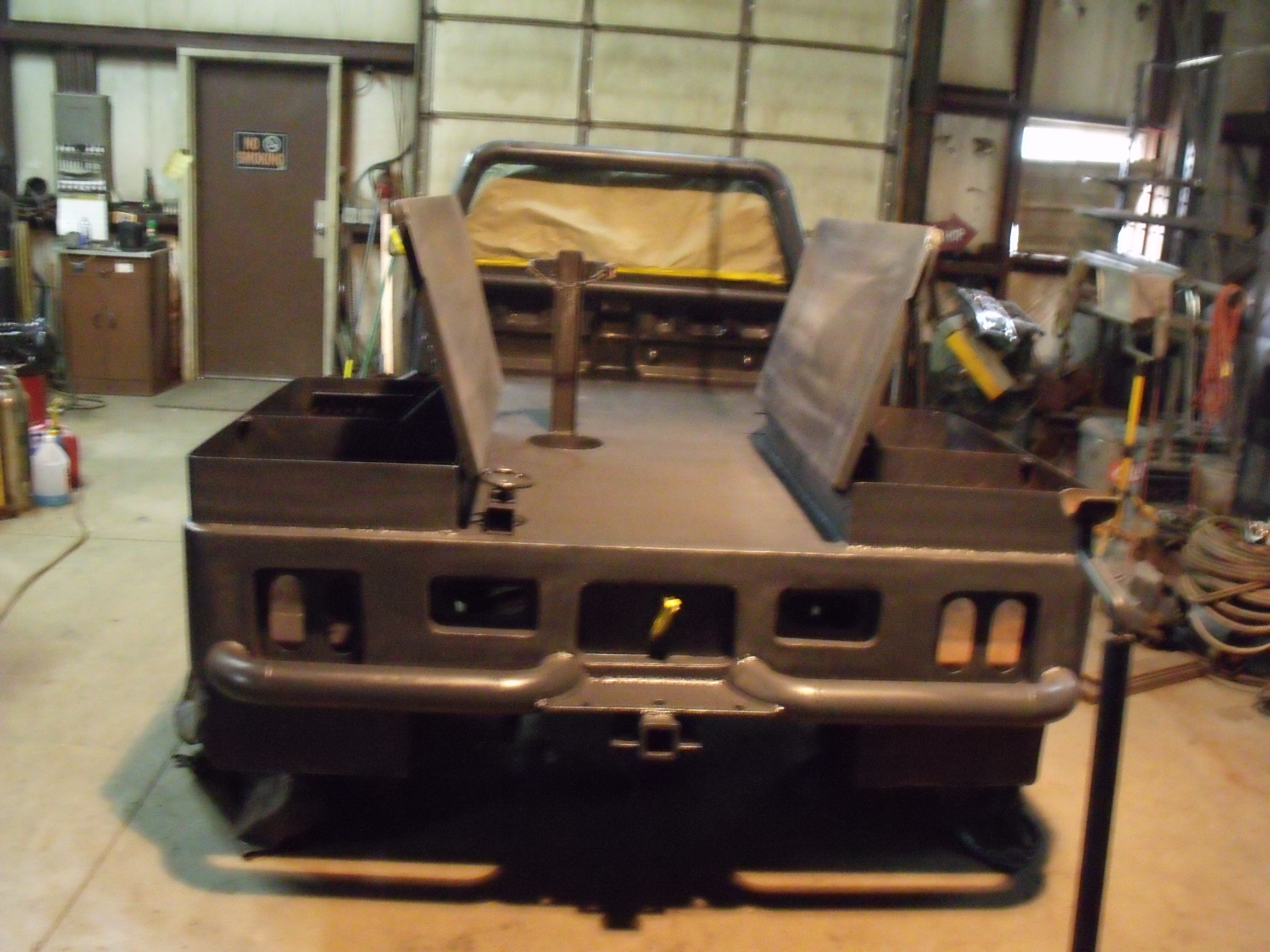 Custom Built Welding Beds