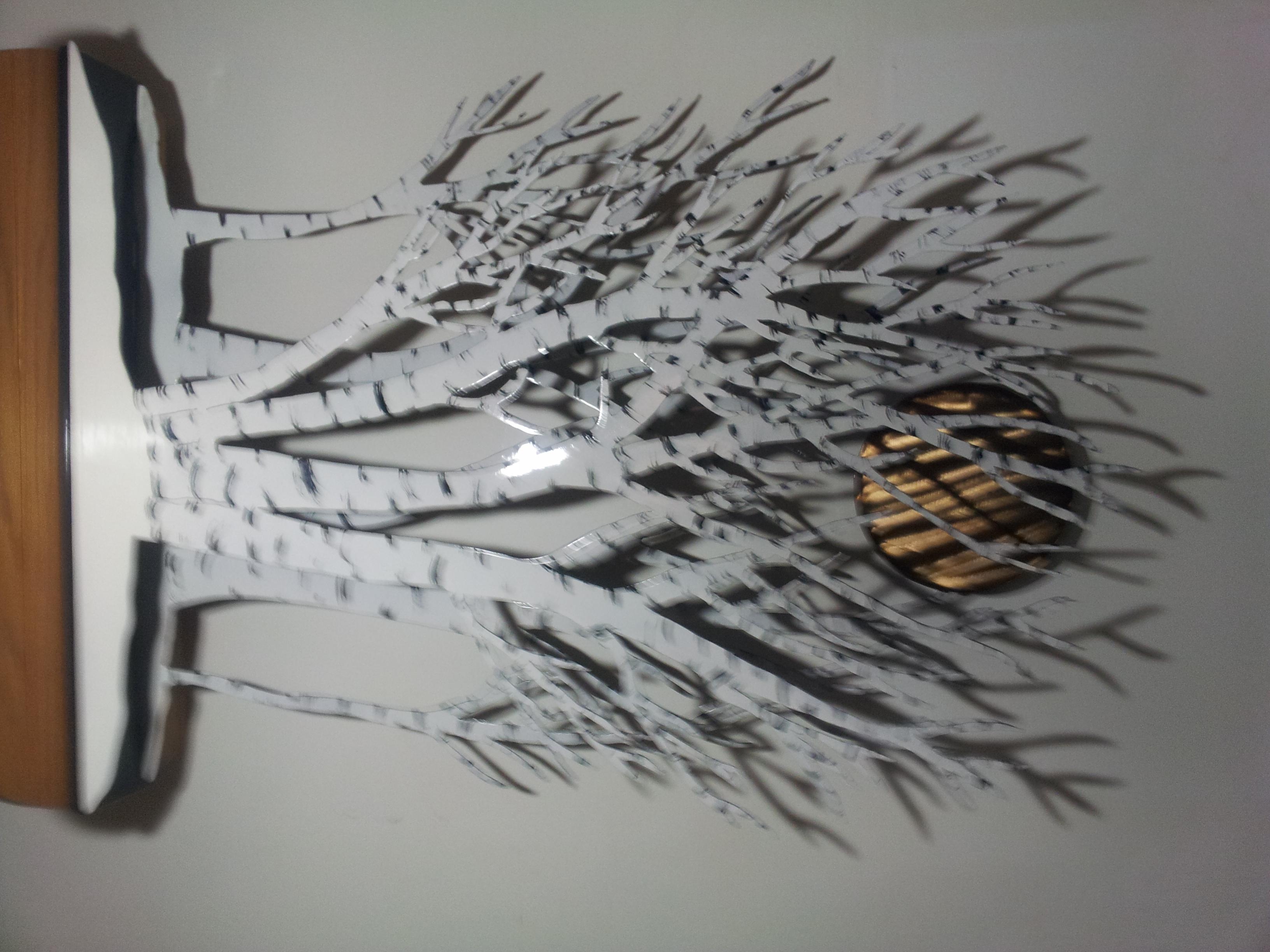 Custom Layered White Birch Tree