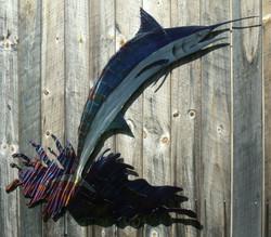 Large Jumping Marlin