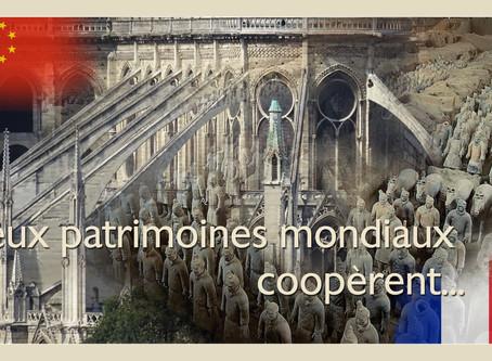 Deux patrimoines mondiaux coopèrent ...