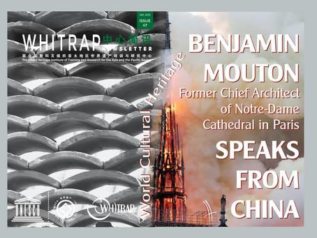 Benjamin Mouton ex-architecte en chef des MH de Notre-Dame s'interroge sur l'implication de l'UNESCO