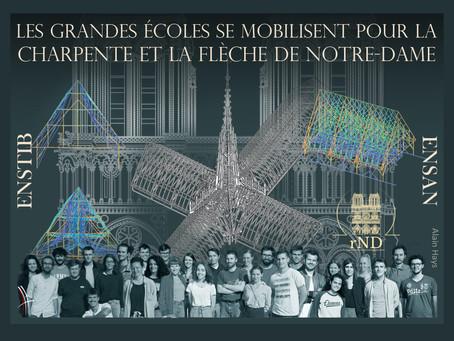Restaurons Notre-Dame dévoile six scénarios pour la restitution de la charpente, flèche et toiture