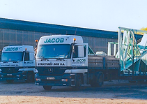 Actros Mercedès flotte de transport du Groupe Jacob structures bois