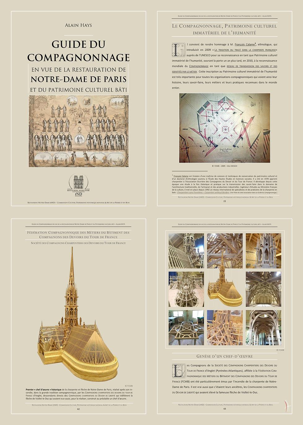 GUIDE DU COMPAGNONNAGE by Alain HAYS H 2