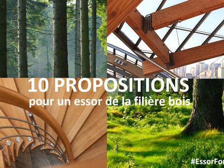 L'AFEF adresse au Président de la République 10 propositions pour l'essor de la filière forê