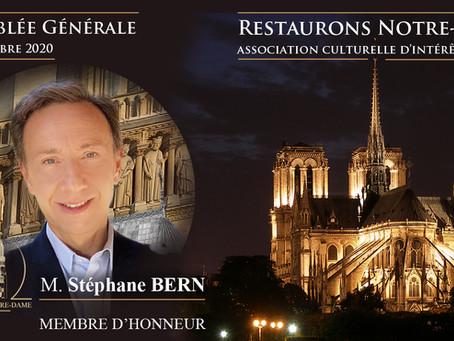 Restaurons Notre-Dame : Lettre d'information N° 11, retour en vidéo sur la 1ère Assemblée Générale