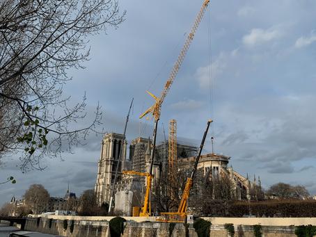 Restaurons Notre-Dame : Newsletter N°2 (Décembre 2019) : les huit informations à retenir