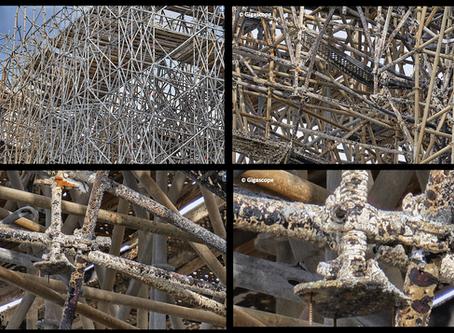 L'échafaudage de Notre-Dame à la loupe avec Gigascope : voilà ce qui attend les démonteurs