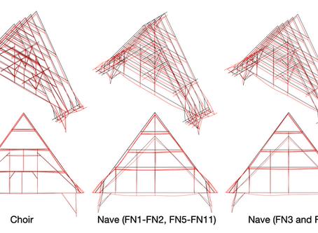 L'étude structurale de l'ancienne charpente de Notre-Dame de Paris