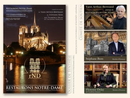 Restaurons Notre-Dame : Dossier de synthèse, les prochaines actions de l'association 2020-2021