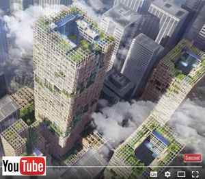 Image pointant vers  Youtube United News International Japanese Company to Build Tallest Wooden Skyscraper