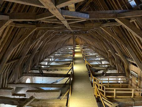 Bourges, la Magnifique : l'extraordinaire charpente de la Cathédrale Saint-Etienne