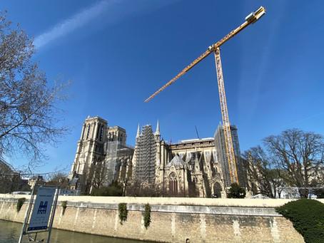Etats photographiques mensuels de la cathédrale Notre-Dame de Paris (mars 2021, mois 23)