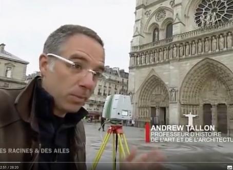 Hommage à Andrew Tallon professeur d'art médiéval pionnier de la numérisation de Notre-Dame de Paris