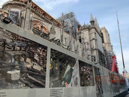 Exposition photos à Notre-Dame de Paris : Les premiers mois d'une renaissance