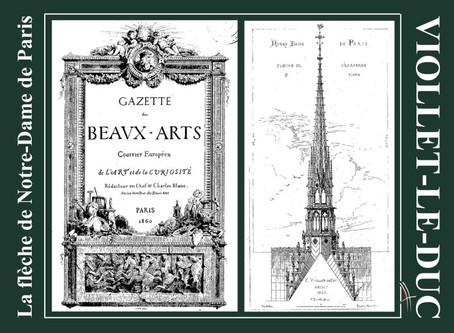 La flèche de Notre-Dame de Paris vue par Eugène Viollet-le-Duc